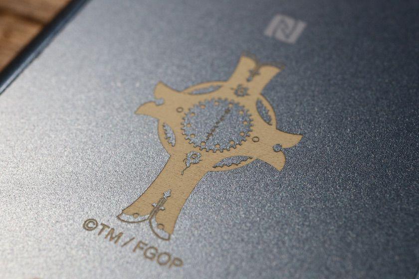 ウォークマン®Aシリーズ「NW-A55」『Fate/Grand Order』Editionシールドモデルの本体裏