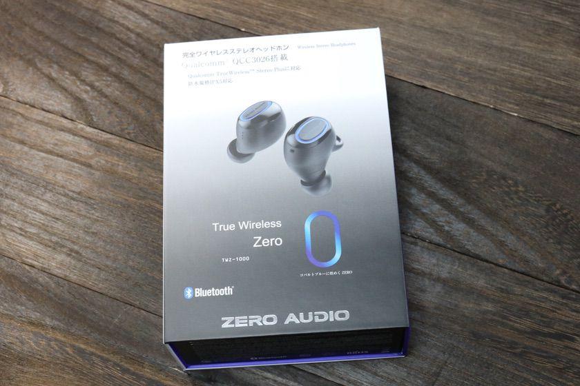 ZERO AUDIO、TWZ-1000の箱外観