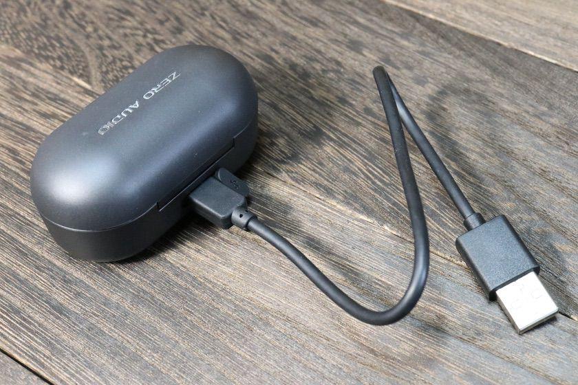 ZERO AUDIO、TWZ-1000のケース充電