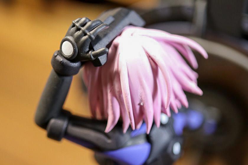 一番くじ『 Fate/Grand Order-武装完了、霊基外骨骼〔オルテナウス〕-』A賞マシュ髪の毛と手