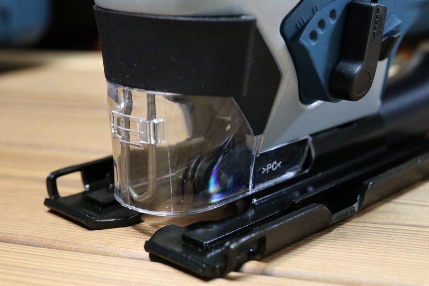 BOSCH『GST90BE/N』透明防塵カバー取り付け
