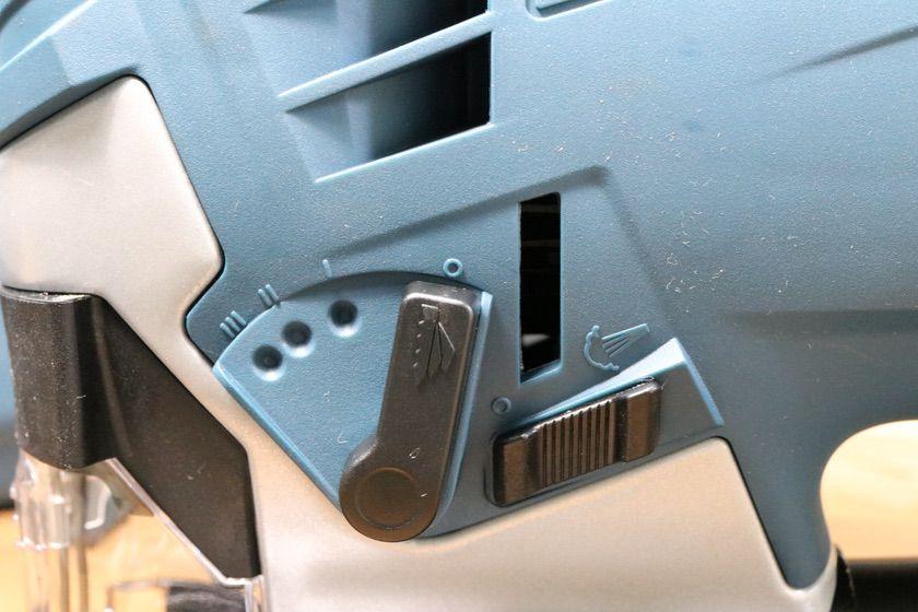 BOSCH『GST90BE/N』オービタル機能とブロア機能のスイッチ