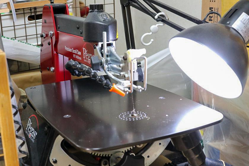 電動糸鋸盤pegas SC-16CE
