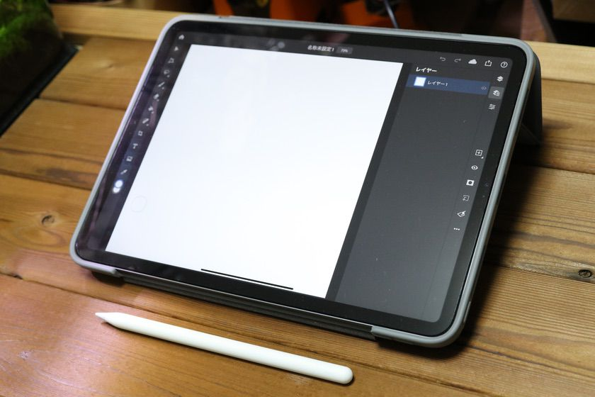 iPad Pro(11インチ)とPhotoshop