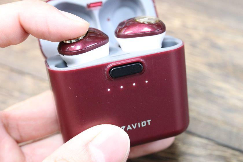AV IOT TE-D01dのケースのバッテリーを確認