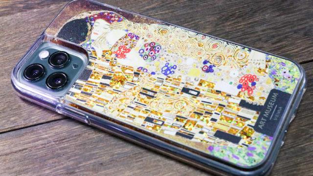 グスタフ・クリムトのiPhoneグリッターケース