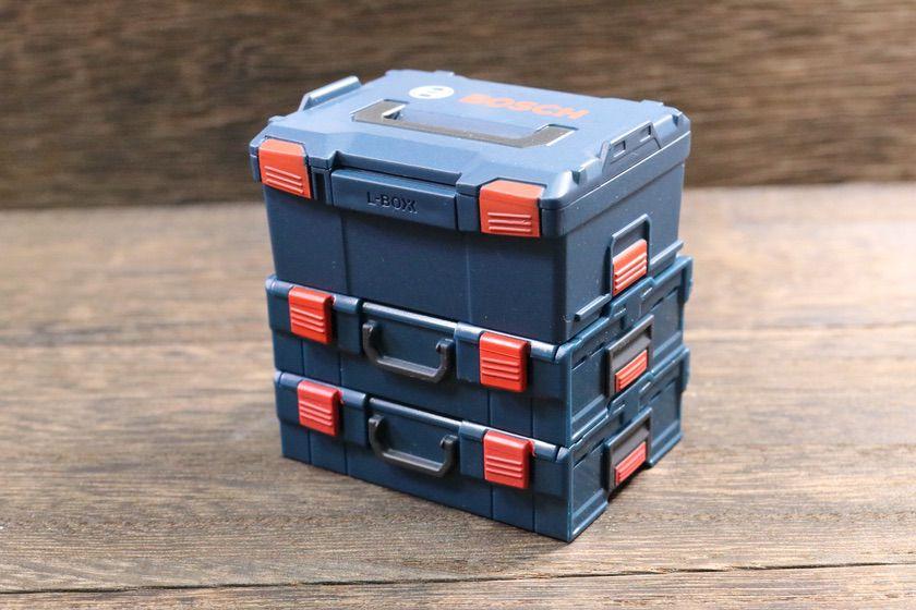 L-BOXX 238NとL-BOXX マルチキャリングケースのスタッキング