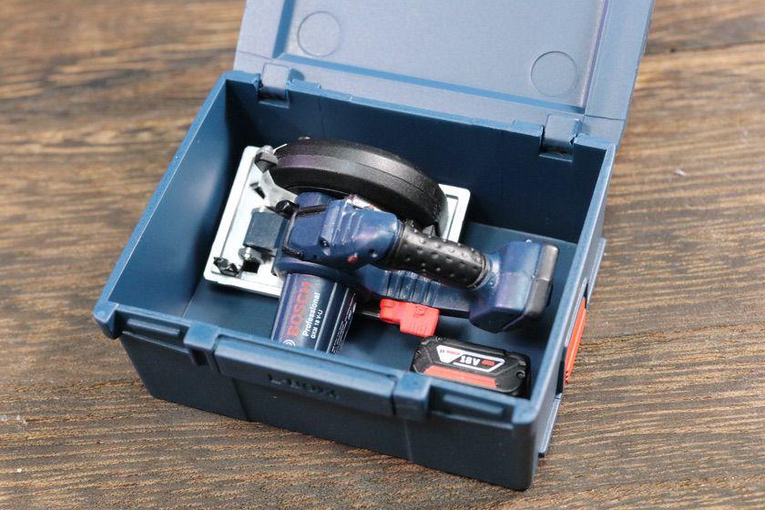 L-BOXX 238N中に電動工具を収納できる
