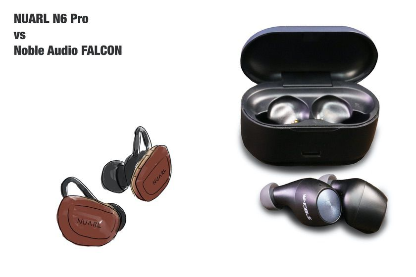 NUARL N6 Pro と Noble Audio FALCON 比較
