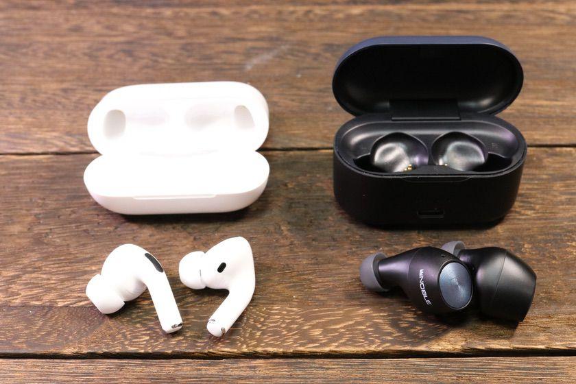 AirPods Pro と Noble Audio FALCON 比較