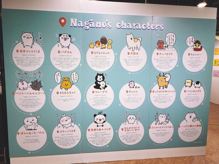 『Nagano's characters展』