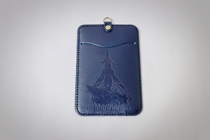ふしぎの海のナディア展 本革製パスケース