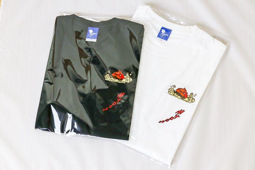 ふしぎの海のナディア展 Tシャツ グラタン(黒・白)大人用S、L