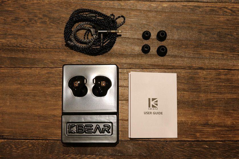 KBEAR KS1 イヤホン